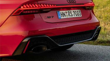 Audi RS7 rear bumper