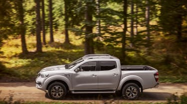 The Alaskan goes up against stiff competition like the Ford Ranger, Mitsubishi L200, Toyota Hilux and Volkswagen Amarok