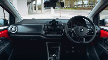 Volkswagen up! hatchback interior