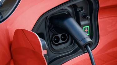 Vauxhall Vivaro-e Life charging port