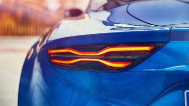 Alpine A110 coupe rear lights