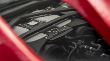 Aston Martin DBS Superleggera engine