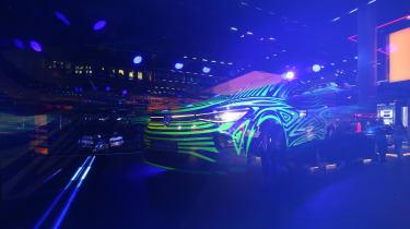 2021 Volkswagen ID.4 - Front 3/4 at Frankfurt