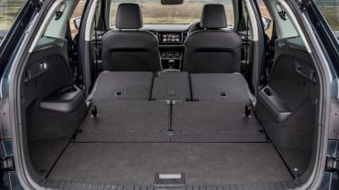 Skoda Kodiaq SUV boot all seats folded