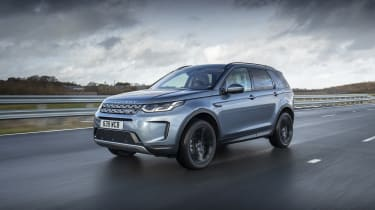 Land Rover Discovery Sport PHEV driving