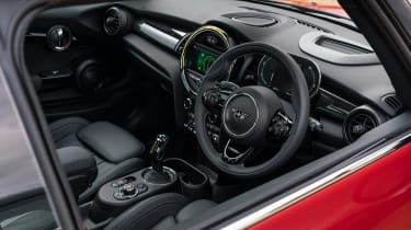 MINI Electric hatchback dashboard