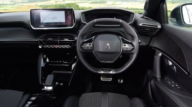Peugeot e-2008 SUV interior