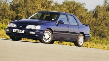 Ford Sierra Sapphire Cosworth and 4x4