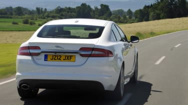 The XF is genuinely enjoyable driver's car with powerful engines, great handling and a smooth-shifting automatic gearbox