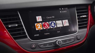 2021 Vauxhall Crossland SUV - infotainment