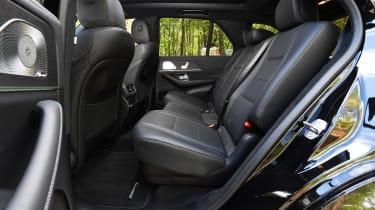 Mercedes GLE SUV rear seats
