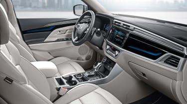 2019 Ssangyong Korando SUV - dashboard