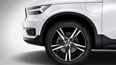 Volvo XC40 hybrid alloy wheel