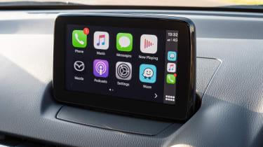 Mazda2 screen - Apple CarPlay