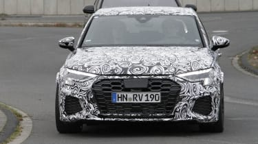 2021 Audi RS3 spotted testing