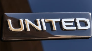 Volkswagen Polo, T-Cross and T-Roc United badge