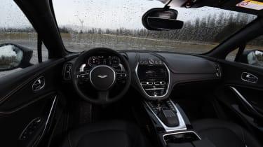 Aston Martin DBX prototype interior