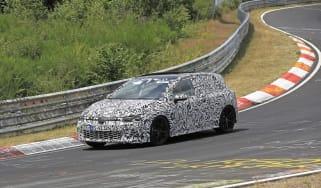 Next-generation Volkswagen Golf GTI testing