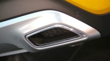2019 Kia Xceed - exhaust close up