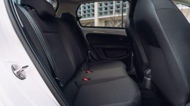 Volkswagen e-up rear seats
