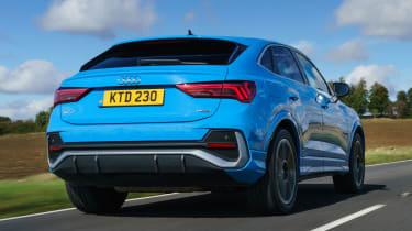 Audi Q3 Sportback SUV - rear dynamic
