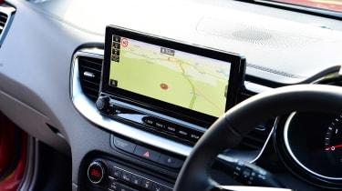 Kia XCeed hatchback dashboard
