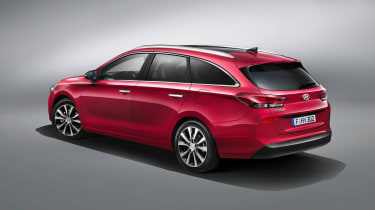 At 602 litres, the new i30 Wagon has an impressively large boot