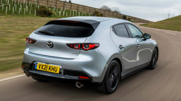 Mazda3 hatchback rear 3/4 tracking