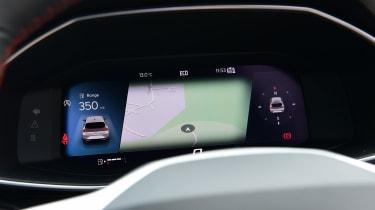 SEAT Leon hatchback - digital instruments