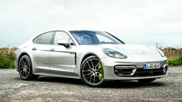 Porsche Panamera hatchback front 3/4 static