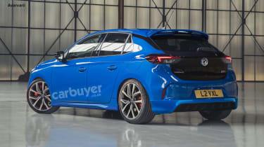 Vauxhall Corsa VXR render