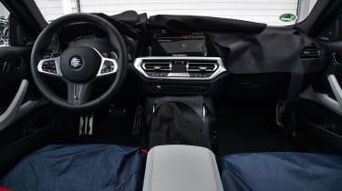 2020 BMW M4 prototype interior