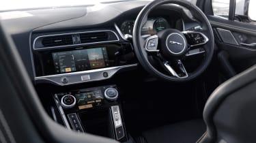 2020 Jaguar I-Pace - dashboard close view