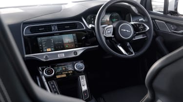 2020 Jaguar I-Pace - dashboard close view