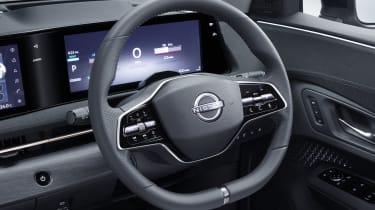 Nissan Ariya steering wheel