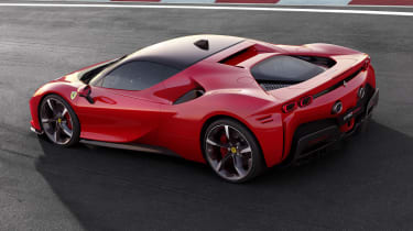 Ferrari SF90 Stradale - rear quarter view