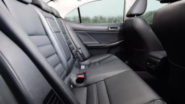 Lexus 300 H F Sport rear interior