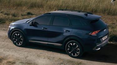 2021 Kia Sportage - rear 3/4