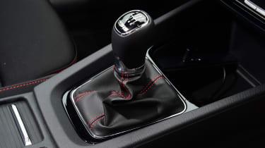 Skoda Octavia vRS hatchback centre console