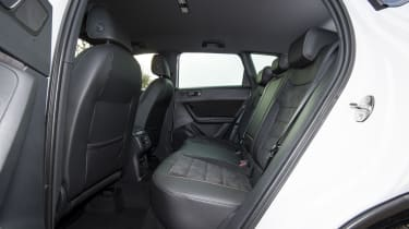 Cupra Ateca SUV - rear seats