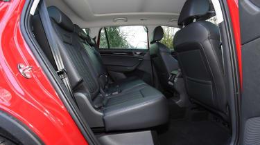 koda Kodiaq L&K - Rear seats