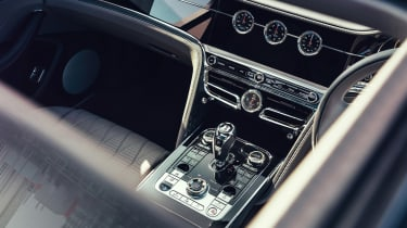 Bentley Continental Flying Spur saloon centre console