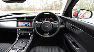 Jaguar XF - interior and dashboard