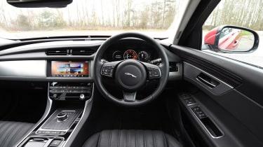 Jaguar XF - interior and dashboard
