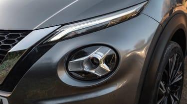 Nissan Juke SUV headlights