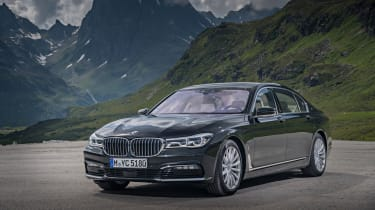 The 740e iPerformance is BMW's range-topping plug-in hybrid saloon