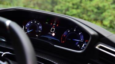 Peugeot 508 SW estate instrument binnacle