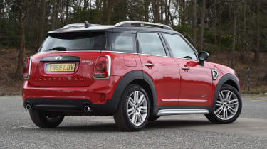 The Countryman's styling can be polarising, with many of the design cues of the Hatchback scaled up
