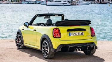 MINI John Cooper Works convertible - rear 3/4 static