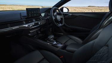 Audi S5 Coupe dashboard